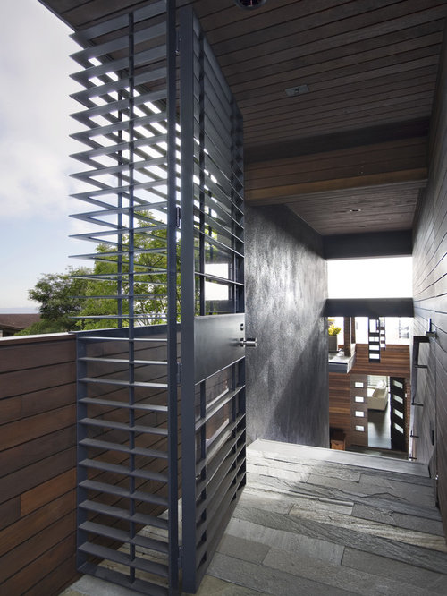 Grille gate houzz for Modern house grill design
