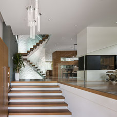 Contemporary Entry by Photolux Commercial Studio