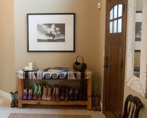bench with shoe storage home design ideas pictures remodel and decor. Black Bedroom Furniture Sets. Home Design Ideas