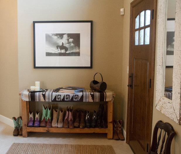 Foyer Door Yoga : My houzz a horse lover s stylish portland retreat