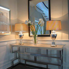 Contemporary Entry by S. B. Long Interiors