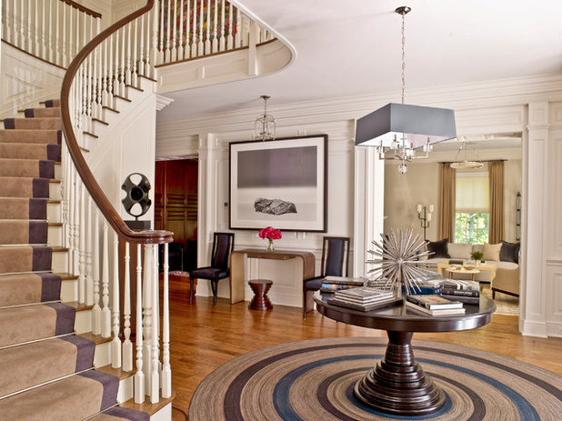 Transitional Entry by S. B. Long Interiors