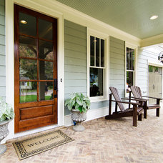 Traditional Entry by Blue Door Homes