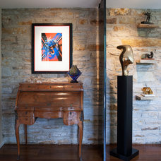 Eclectic Entry by Ziger/Snead Architects