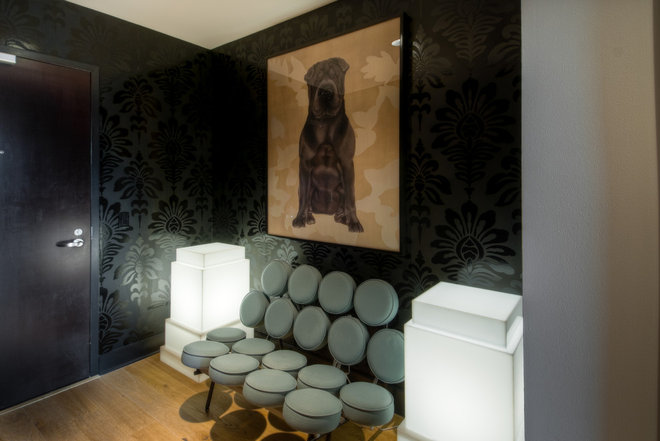 Contemporary Entry by Applegate Tran Interiors