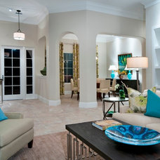 Eclectic Entry by London Bay Homes