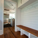 Coats And Cubbies Farmhouse Entry New York By