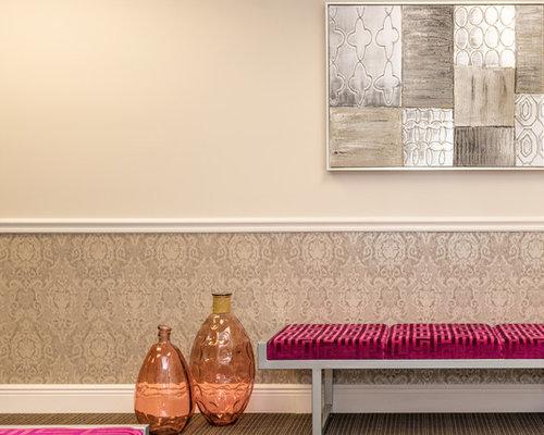 moderner eingang mit teppichboden ideen design bilder. Black Bedroom Furniture Sets. Home Design Ideas