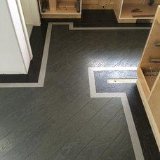 Contemporary Entry by Precision flooring Saskatoon