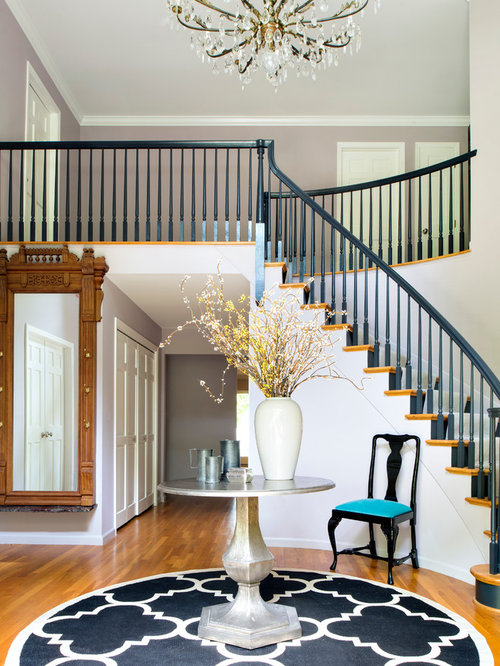 Painted Stair Railing Houzz