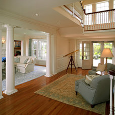 Traditional Entry by Patrick Ahearn Architect