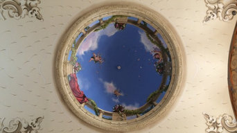 Grand entry hall dome and ceiling