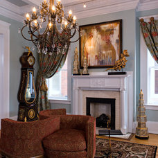 Traditional Entry by Jennifer Stoner Interiors