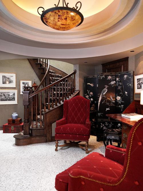 Classic Patterned Carpet Entryway Design Ideas Renovations amp Photos