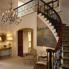 Traditional Entry by Robin Baron Design