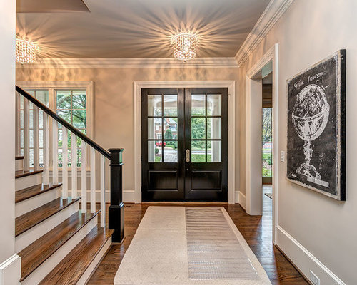 Foyer Ideas Houzz : Transitional entryway design ideas remodel