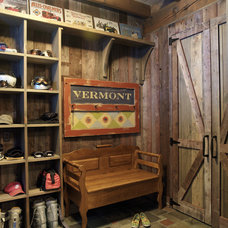 Rustic Entry by Cushman Design Group