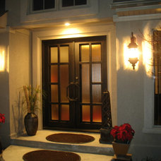Contemporary Entry by Manhattan Iron Doors
