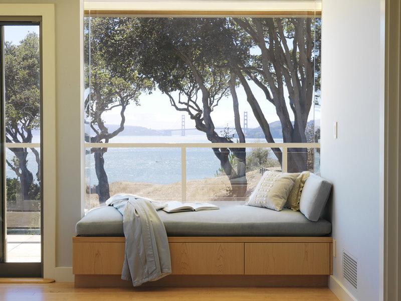 Contemporary Entry by Mahoney Architects & Interiors