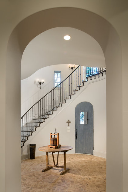 Traditional Entry by Texas Fine Home Builders