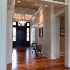 Traditional Entry by Court Atkins Architects
