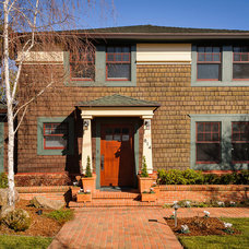 Craftsman Exterior by Dennis Mayer, Photographer