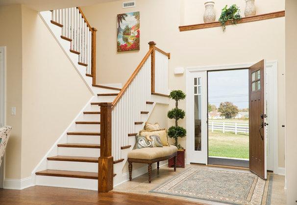 Craftsman Entry by Beracah Homes