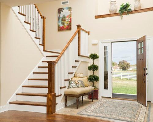 Foyer Ideas Craftsman : Tile entryway houzz