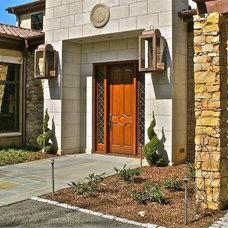 Contemporary Entry by David Acton Building Corp.
