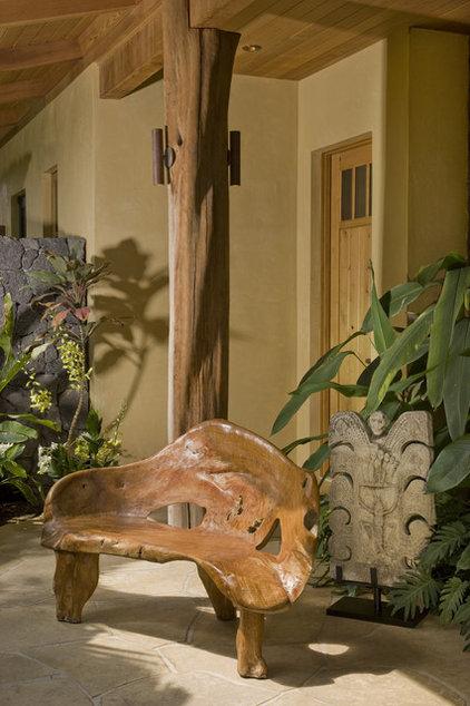 Tropical Entry by Saint Dizier Design