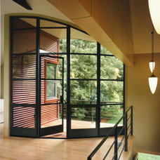 Contemporary Entry by Burr & McCallum Architects