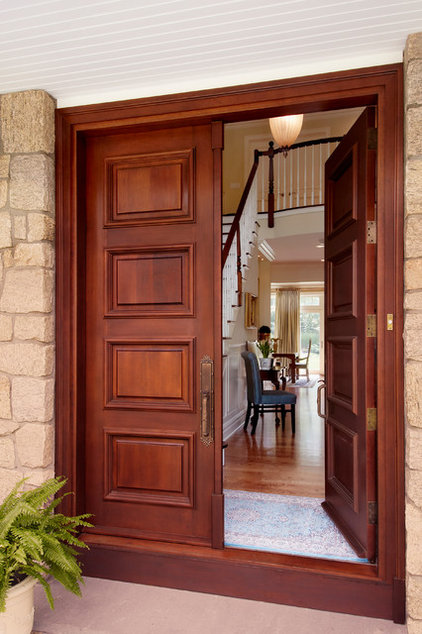Traditional Entry by Grande Interiors