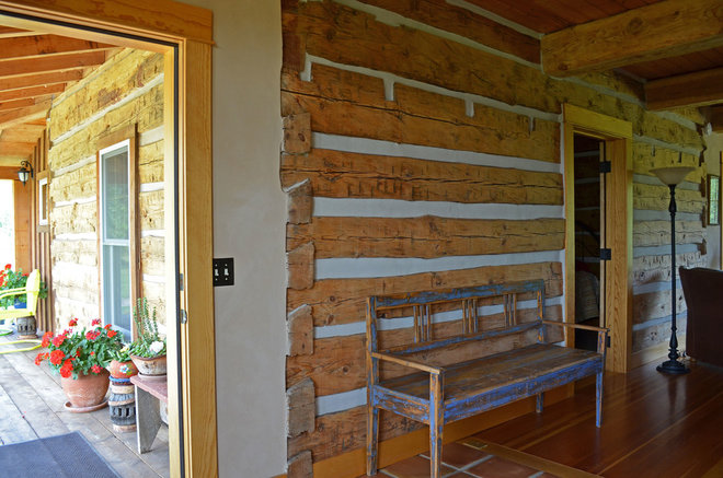 Rustic Entry by Sarah Greenman