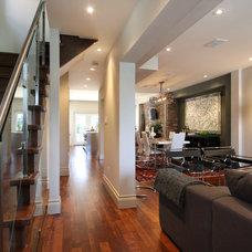 Modern Entry by Hall Developments