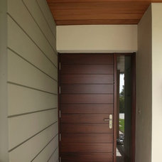 Contemporary Entry by Hollub Homes