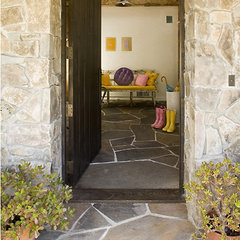 eclectic entry by Mark English Architects, AIA