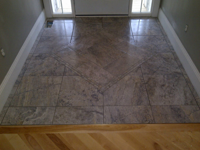 Traditional Foyer Tiles : Foyer tile