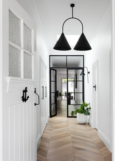 Contemporary Entry by Bask Interiors