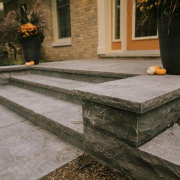 Hampton Limestone Stairs
