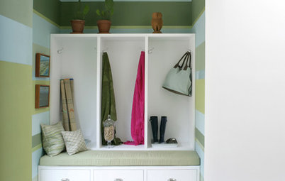 Just Passing Through: Making the Most of Hallways, Mudrooms, & More