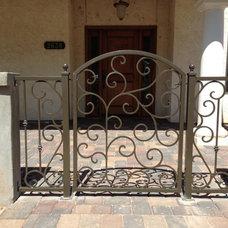 Mediterranean Entry by Ironic Metalworks LLC