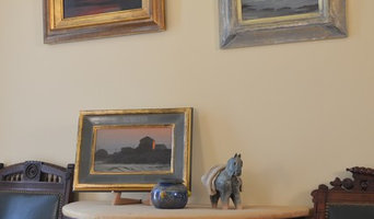 hand made artisan frames for 3 paintings by Pete