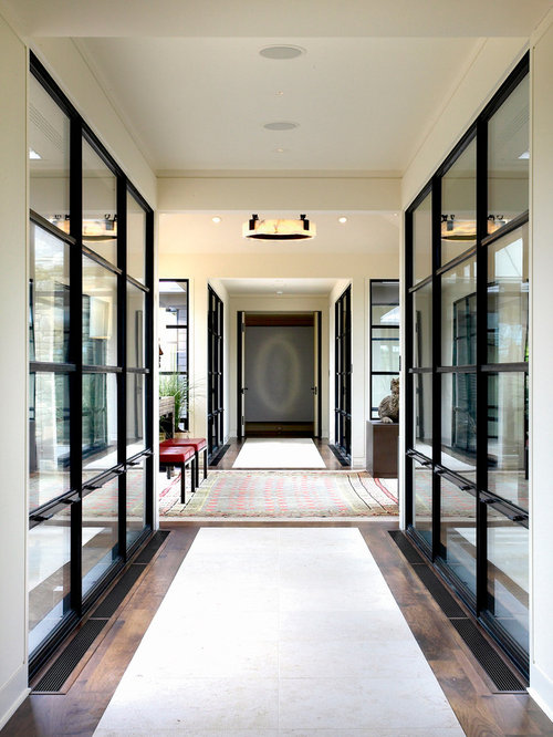 Glass Hallway Ideas Pictures Remodel And Decor