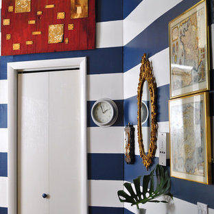 This is an example of a bohemian hallway in New York.