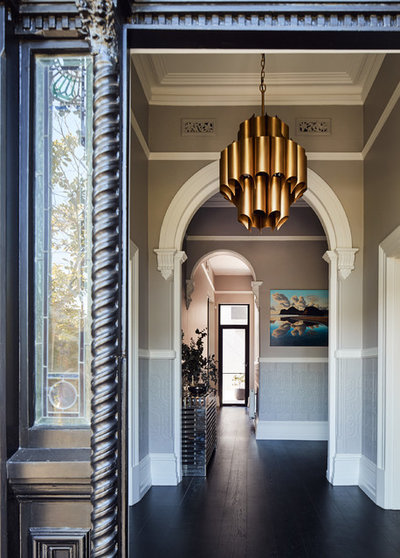Contemporary Entry by STAR Architecture
