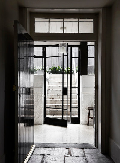 Contemporary Entry by rosstang architects