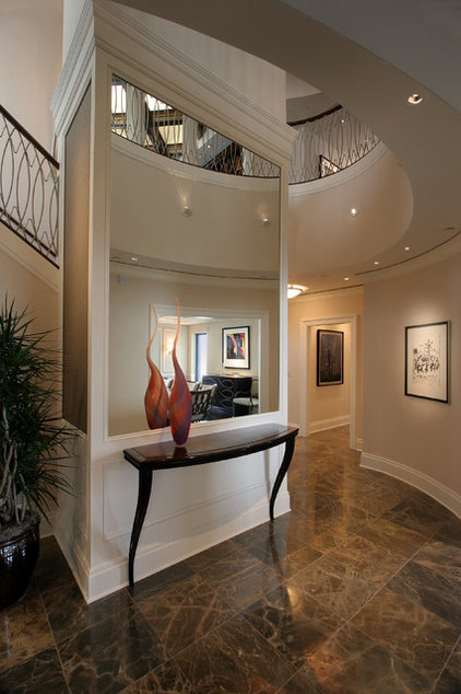 contemporary entry by Deep River Partners