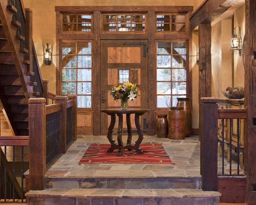 Foyer Architecture Quiz : Rustic entryway ideas pictures remodel and decor