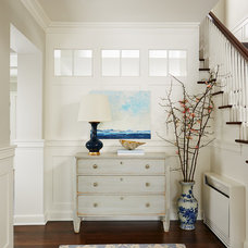 Transitional Entry by Charlie & Co. Design, Ltd