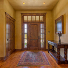 Traditional Entry by Tony Roberts Custom Homes